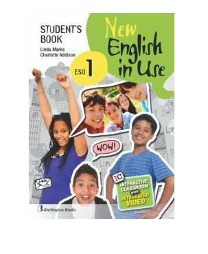 New English in Use 1 ESO Students Book PDF