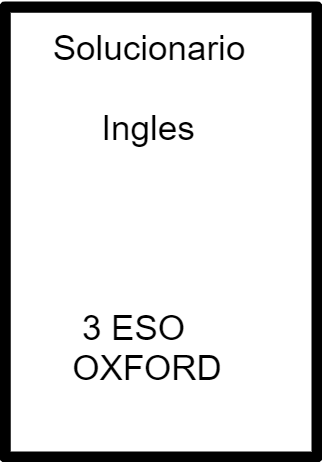 soluciones students book 3 eso oxford
